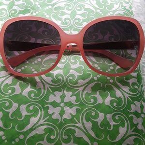 🚩2×$24📣 Betsey Johnson Pink sunglasses